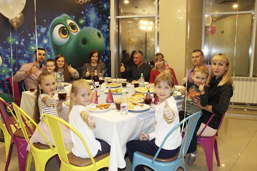 Праздничный стол - Детский День Рождения в Туса-Джуса